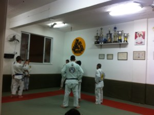 Inside Gracie Humaita.